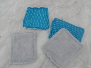 lingette bebe tissu éponge